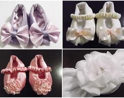Kit de sapatinho de beb�