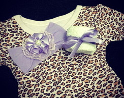 Kit Baby - Body Oncinha Lil�s