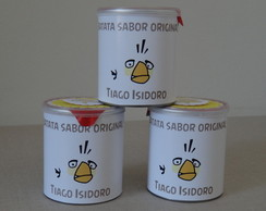 Mini Batata Pringles - Angry Birds