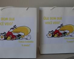 Sacola Lembrancinha - Angry Birds