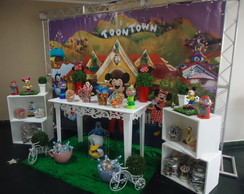 Decora��o da Guloseima Turma do Mickey