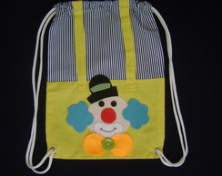 mochila infantil palha�o