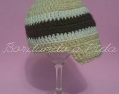 ... Boné Newborn Crochê f499f313f00
