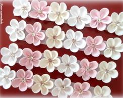 Lacinho Florzinha - Tons Pasteis