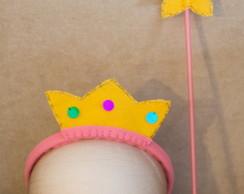 Peppa pig fada kit tiara e varinha