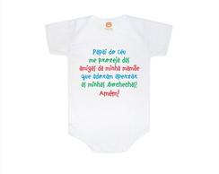Body e Camiseta Infantil-Amigas da Mam�e