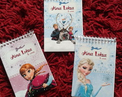 Bloco de anota�oes FROZEN