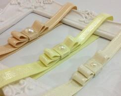 KIT 3 faixas la�o:off white,amarelo,bege