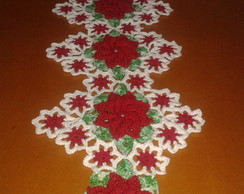 Trilho de mesa floral