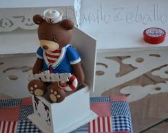 Ch� de Bebe Proven�al Ursos Marinheiro