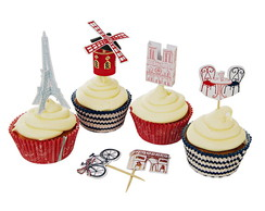 Kit Cupcake - Paris