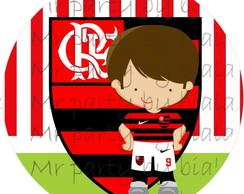 R�tulo Latinha Flamengo