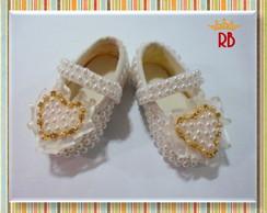 Sapato REALEZA Cora��o Ouro