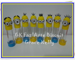 Tubetes Minions Biscuit