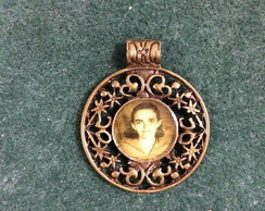 Medalha Vintage Cristiane