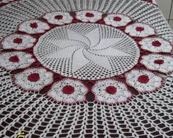 toalha de mesa rosas
