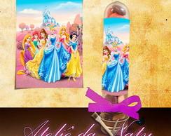 Adesivo P/ Tubete - Princesas