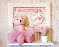 Porta Maternidade Ursinha Bailarina
