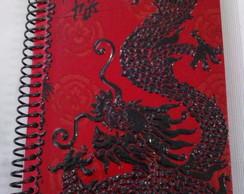 Caderno espiral Drag�o