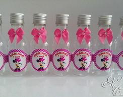 Garrafinha personalizada Minnie rosa