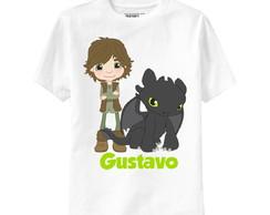 Camiseta Como Treinar Seu Drag�o 2