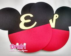 Bandeirolas Mickey e Minie em Scrap