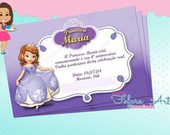 Convite Digital Princesinha Sofia 1