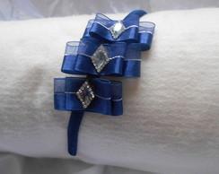 Tiara Tr�s La�os Azul