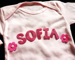 Kit Baby - Body Personalizado Nome