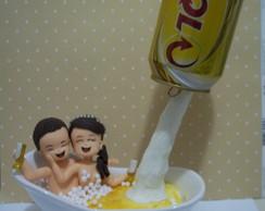 Noivinhos na banheira