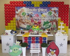 Decora��o Clean Angry Birds