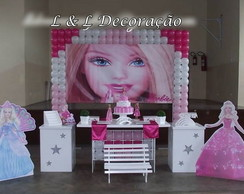 Decora��o Clean Barbie
