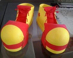 Sapato palha�o