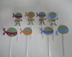 Topper Tartarugas Ninjas especial