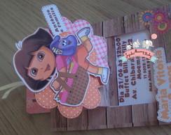 Dora Aventureira Convite