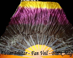 Fan Veil Black Magic