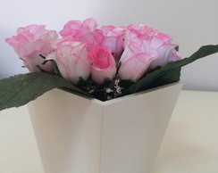 Vasinho com Flor decorado