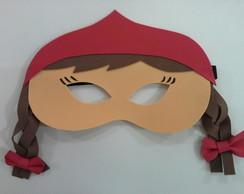 mascaras chapeuzinho vermelho