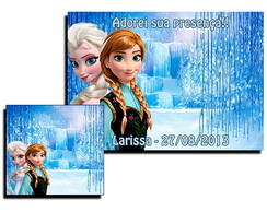 Jogo Americano Frozen