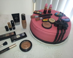 Caixa de Maquiagem Bolo