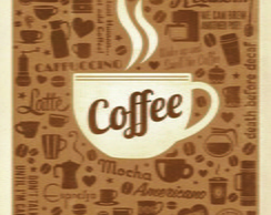 Poster Decorativo Welcome Coffe Lovers
