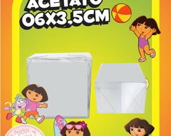 Caixinha de Acetato Dora A Aventureira