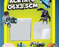 Caixinha de Acetato Max Steel