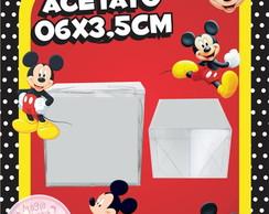 Caixinha de Acetato Mickey