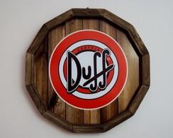 Placa de cerveja decorativa