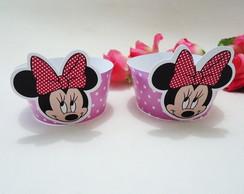 Wrapper para Cupcake Tema Minnie