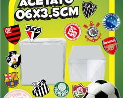 Caixinha de Acetato Times de Futebol