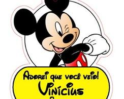 Festa Mickey - Tag Personalizada