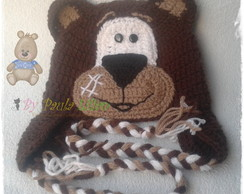Touca Urso marron