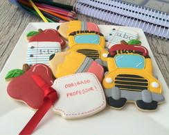 Biscoito Decorado Dia dos Professores
